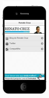 Aplicativo do Blog do Renato Cruz